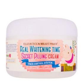 Elizavecca Milky Piggy Real Whitening Time Secret Pilling Cream