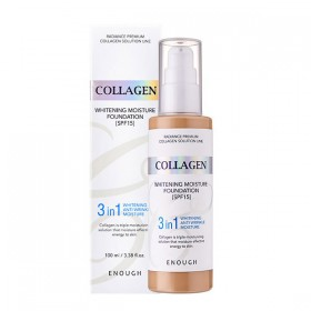 Enough Collagen Whitening Moisture Foundation Spf 15 №13