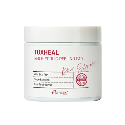 Esthetic House Toxheal Red Glycolic Peeling Pad