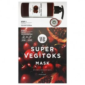 Wonder Bath Super Vegitoks Mask Red