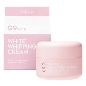 G9 White in Whipping Cream Pale Pink