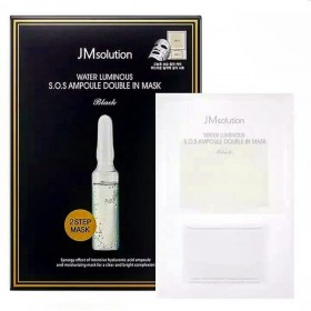 JMSolution Water Luminous S.O.S. Ampoule Double In Mask Black