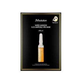 JMSOLUTION Water Luminous S.O.S. Ampoule Vita Mask Black