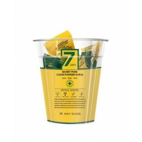 MAY ISLAND 7Days Secret Pore Clear Powder Scrub 12 шт. 5 гр.