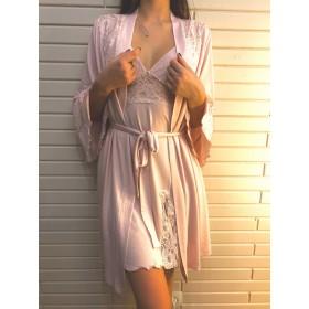 Комплект домашней одежды. Пудровый розовый