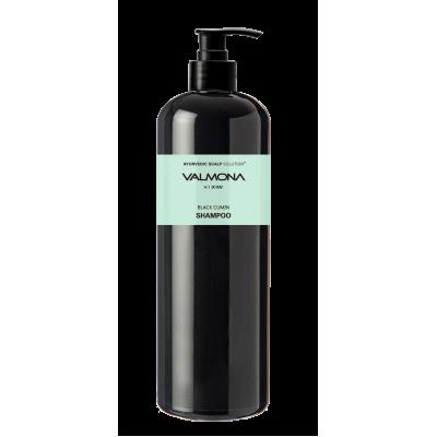 VALMONA Ayurvedic Scalp Solution Black Cumin Shampoo 480 ml