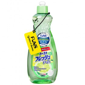 Funs Жидкость для мытья посуды, овощей и фруктов Fresh Lime