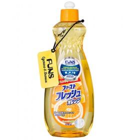 Funs Жидкость для мытья посуды, овощей и фруктов Fresh Orange
