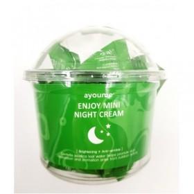 Ayoume Enjoy Mini Night Cream 30шт